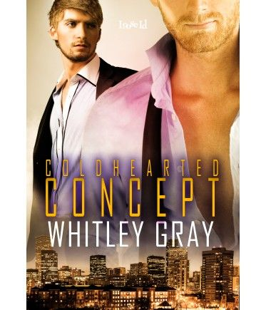 Cold-Hearted Concept by Whitley Gray, a gay suspense romance from