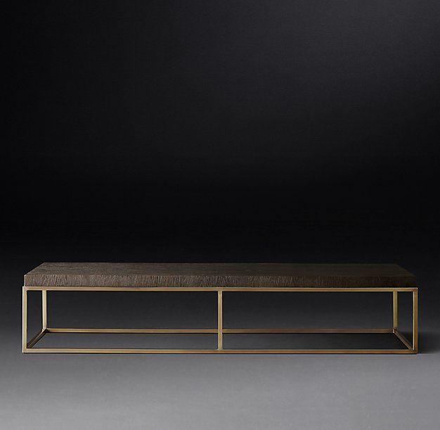 Nicholas Oak Rectangular Coffee Table