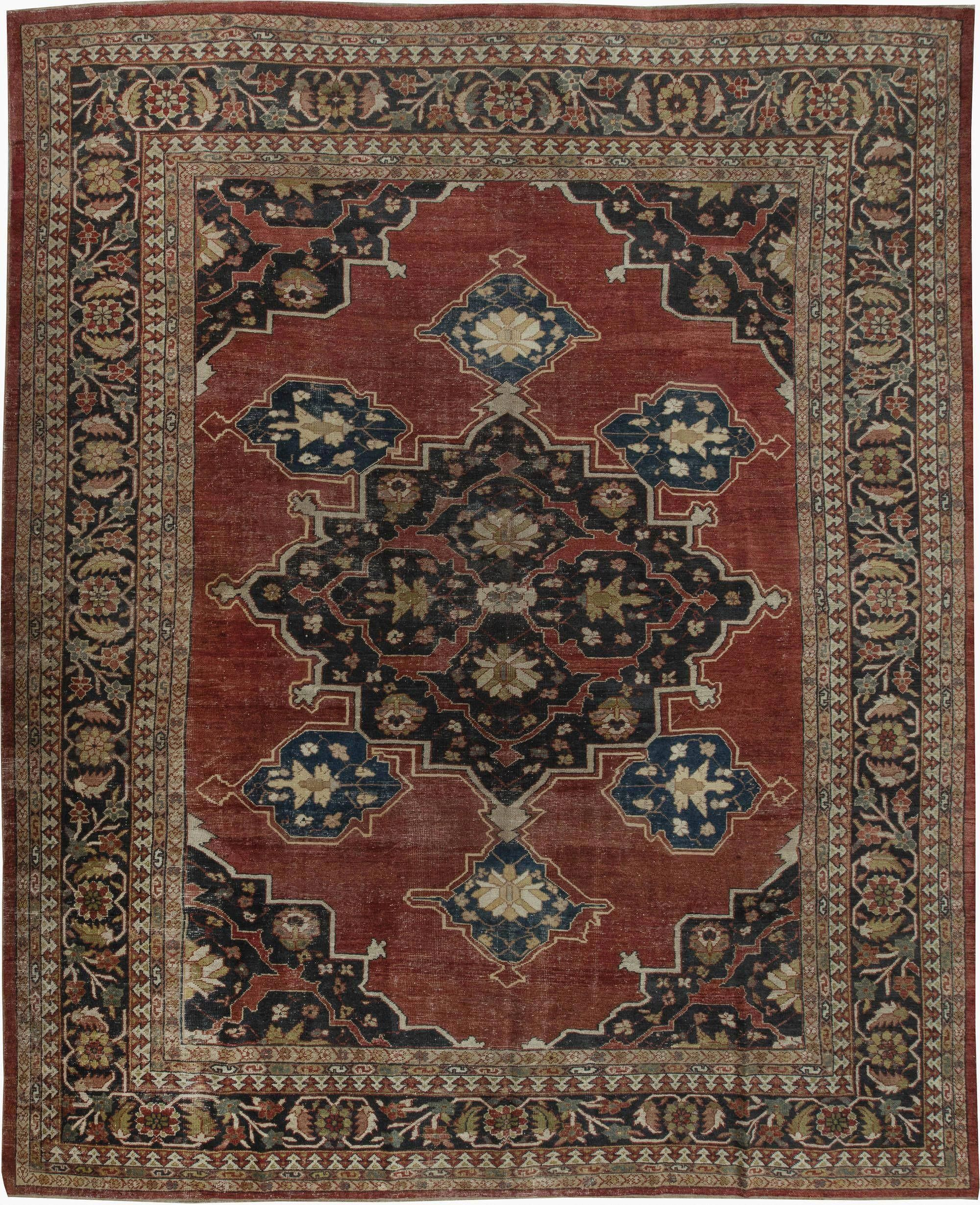Cod. 897 Kirman Antico, 203x133 tappeto persiano antique