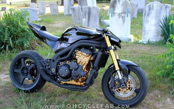 FOH Cycle Fabrication - Custom Streetfighter Motorcycles: