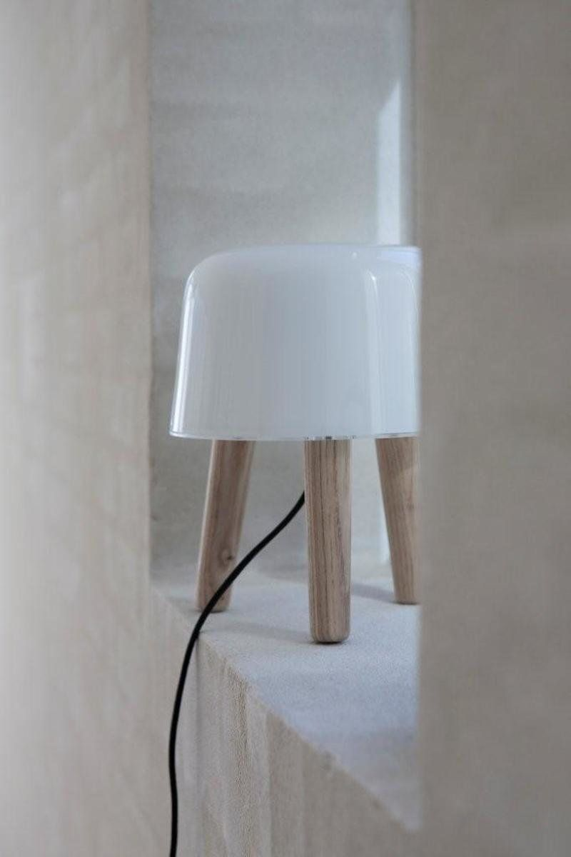 Tradition Milk Table Lamp Ash Table Lamp Milk Table Lamp
