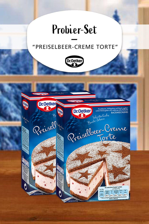 Preiselbeer Creme Torte In 2019 Dr Oetker Shop