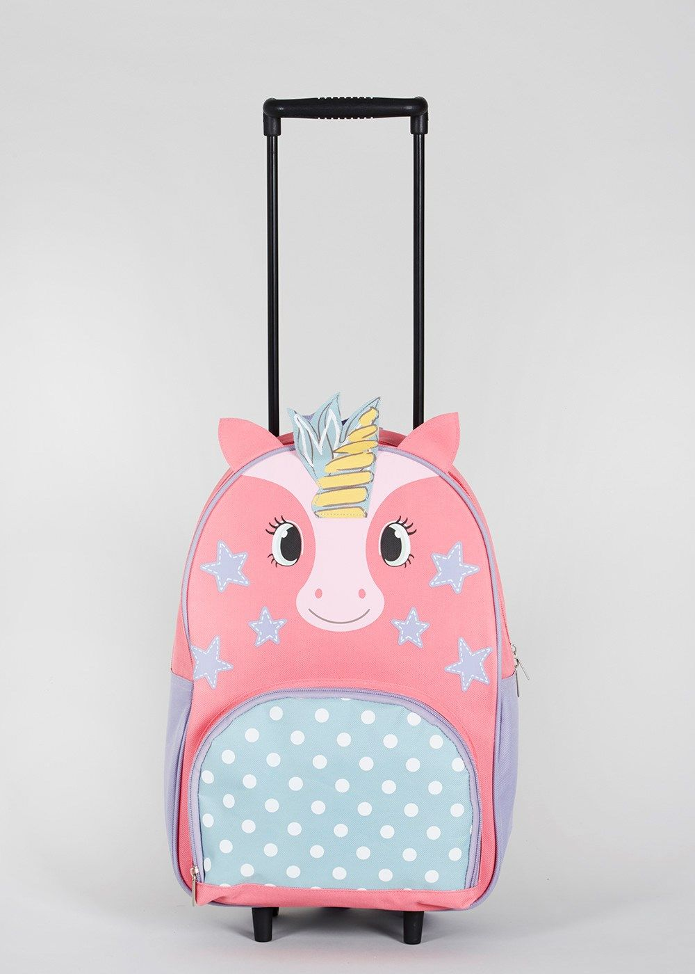 554a8613d82c Kids Unicorn Wheeled Backpack (39cm x 31cm) – Matalan in 2019 ...