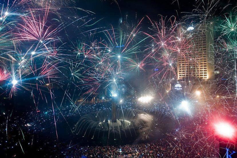Jakarta! Earth pictures, Fireworks, World