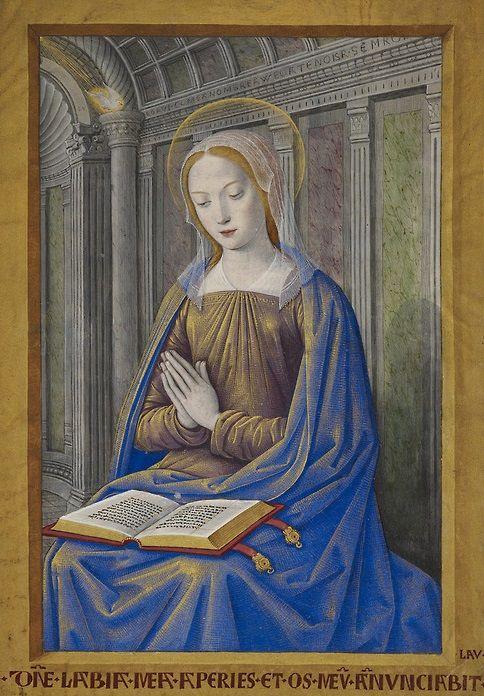 Jean Bourdichon Libro de las Horas de Enrique IV (s. XVI).