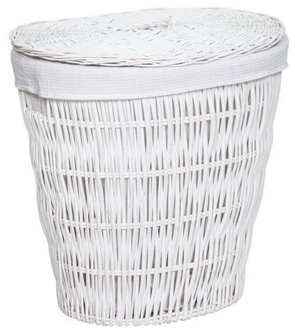 Large White Laundry Baskets White Laundry Basket Wicker Baskets