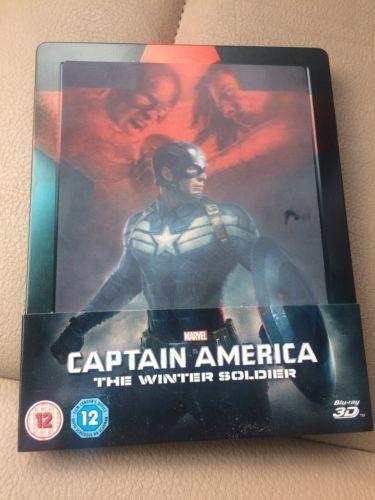 Captain America The Winter Soldier 3D Lenticular Blu-ray Steelbook https://t.co/k4Ywz2XExN https://t.co/1pnW4Ju1CN