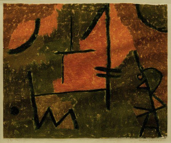 Paul Klee: Hexen schmiede, 1936.