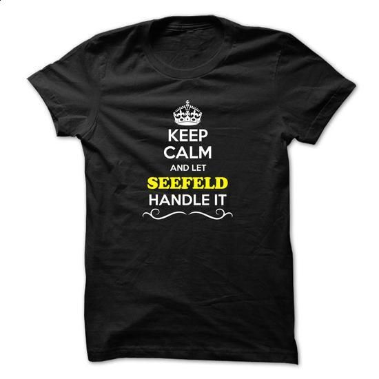 Keep Calm and Let SEEFELD Handle it - #gift for mom #hoodie