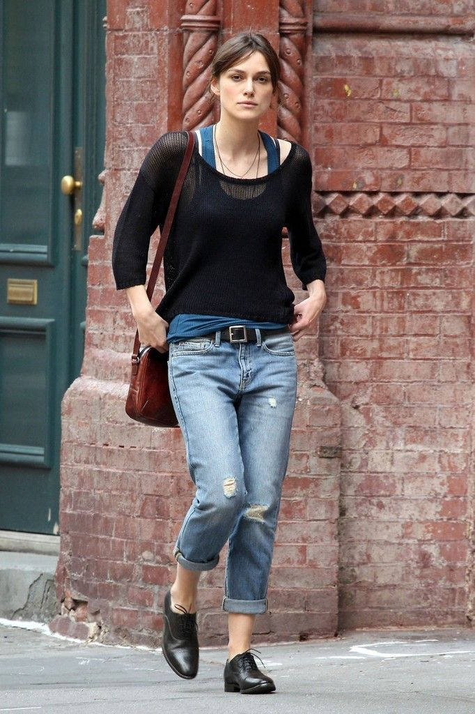 3aed1c0bbdf More Pics of Keira Knightley Boyfriend Jeans in 2019 | fashion | top ...