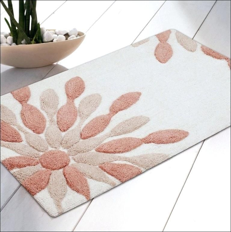 Alluring Cute Rugs At Bed Bath And Beyond With Images Peach