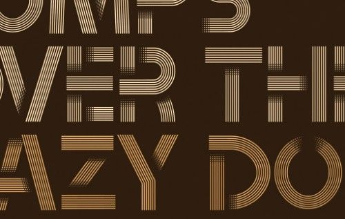 Tribbon 'Layered' Font – Exclusive Free Download | design ...