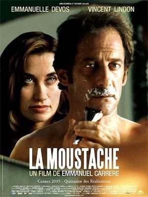 La Moustache Emmanuel Carrere Moustache La Poster French Cinema