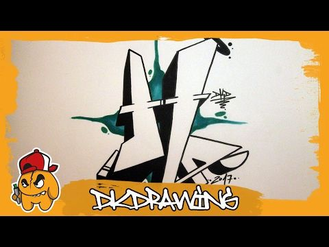 Cool Graffiti Alphabet Tutorial How To Draw Graffiti Letters Letter H Graffiti Lettering Graffiti Alphabet Graffiti Drawing