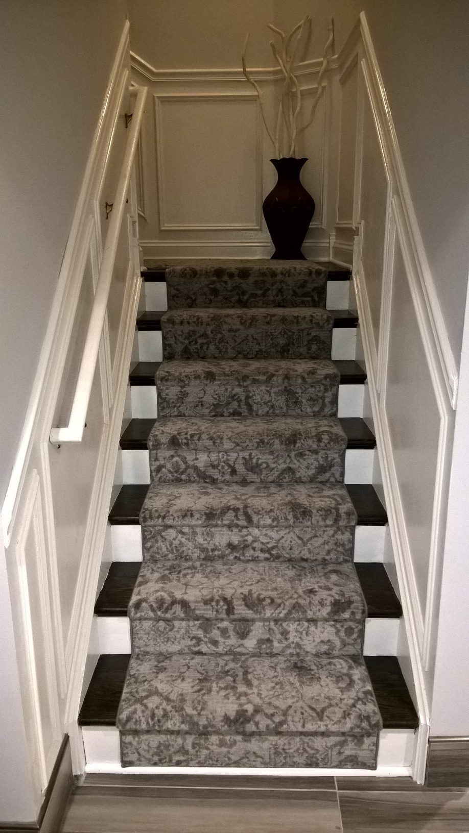 Best Traditional Staircase Featuring Milliken S Pat Modern 400 x 300