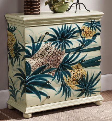 Pineapple Dresser   The Hawaiian Home   Hawaiian Decor   Pinterest    Hawaiian, Dresser And Hawaiian Decor