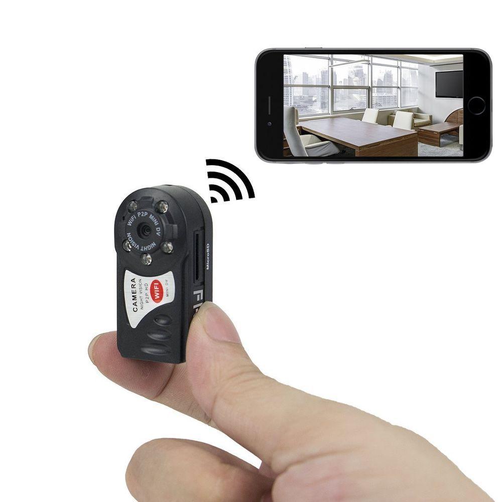 Mini DVR P2P WiFi Livestream zum Handy für Android und iPhone mit USB Netzteil