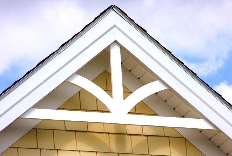 Decorative Gable Gp200 Decorative Gable Trim House