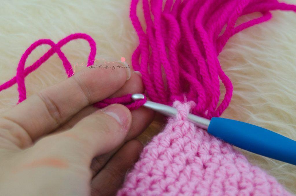 Harper Crochet troll hat pattern Crochet Poppy Hat c75faaff28c