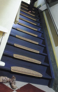 Wood you like sisal stair treads modern staircase pinterest stair treads sisal and wooden - Refurbish stairs budget ...