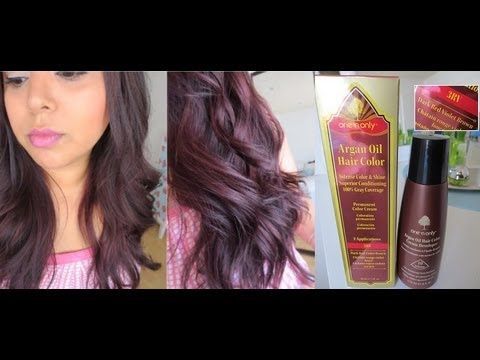New One N Only Argan Oil Hair Color Review My New Hair Color Argan Oil Hair Color Hair Color Cherry Coke Light Hair Color