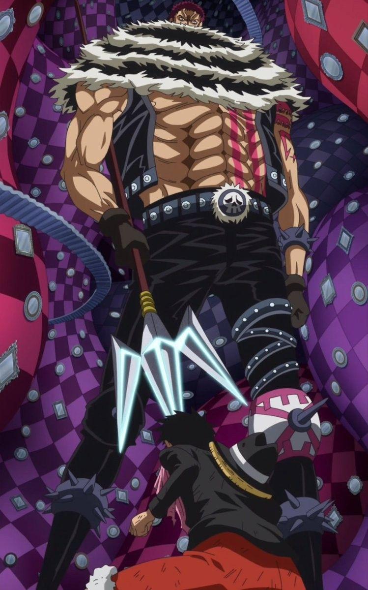 Katakuri vs Luffy onepiece Dessin one piece