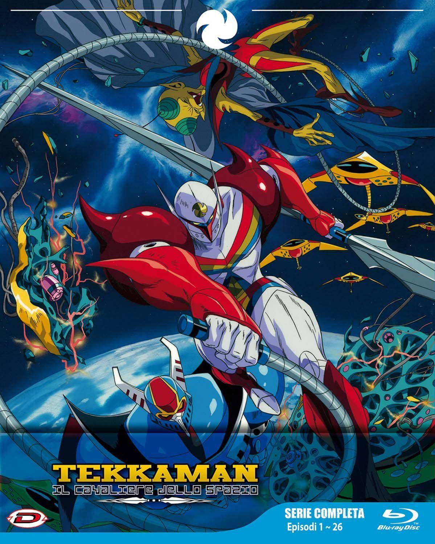 Tekkaman il cavaliere dello spazio eps blu ray dello