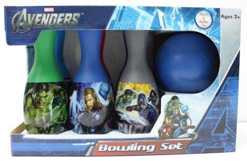 Avengers Bowling Set