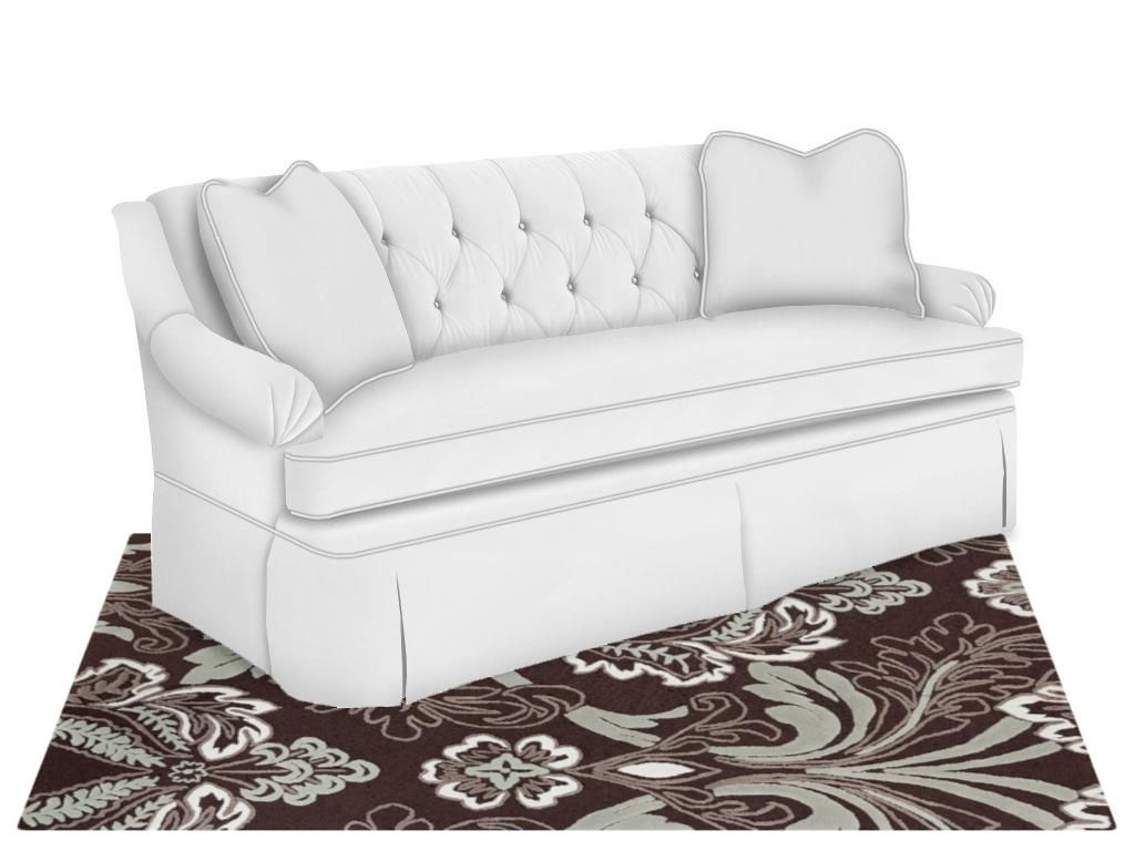 Kincaid Furniture Living Room Hamilton Sofa 677 86   Goodu0027s Furniture    Kewanee, ...