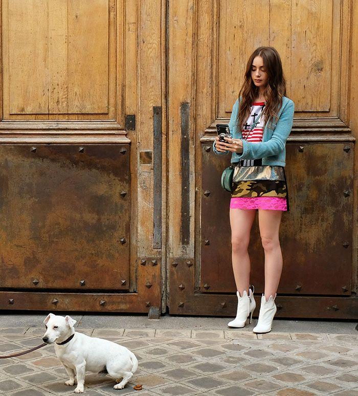 Los looks de Lily Collins en 'Emily en París'