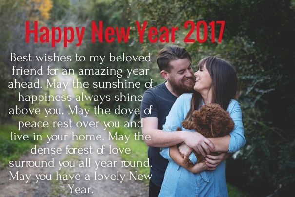 Cute Happy New Year  Love Quotes For Her Girlfriend With Pics