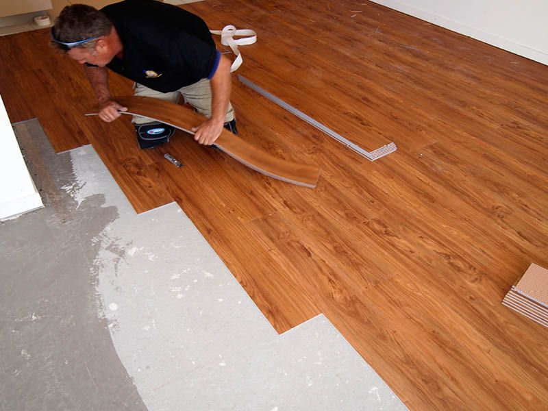 Loose Lay Vinyl Plank Flooring Looks Great And Is Half The Price Of