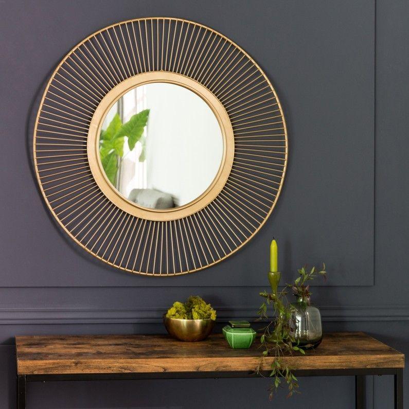 Un Miroir Rond Avec Une Corde Pour Le Suspendre Leroy Merlin Interieur Deco Loggia