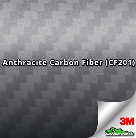 60 3m 1080 Anthracite Carbon Fiber Cf201 Vinyl Wrap Gatorprints Carbon Fiber Vinyl Carbon Fiber Carbon