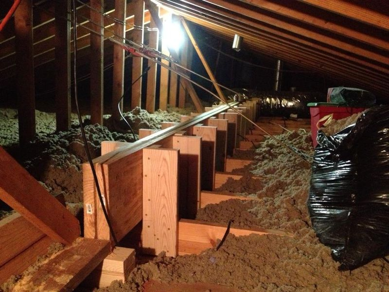 How To Fix Sagging Ceiling Joists With