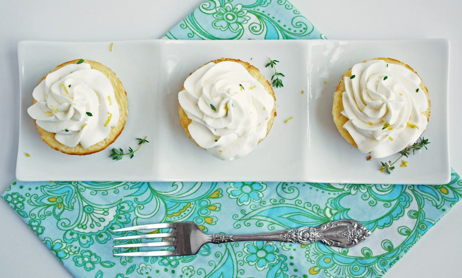 Lemon, Thyme & Chevre Cheesecakes - I Breathe... Im Hungry... low carb goodness!