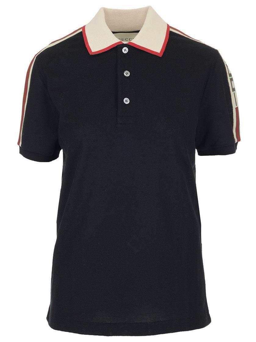 41070d7a8 GUCCI GUCCI LOGO RIBBON POLO SHIRT. #gucci #cloth | Gucci | Polo ...