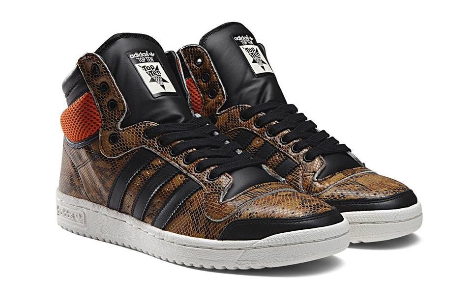 Adidas Originals Top Ten Snakeskin Snicker Shoes Adidas Adidas Shoes