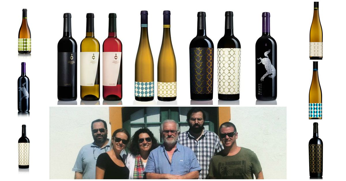 António Antunes and Marta Neto, were expecting us. He is the owners' son, and became so involved in the project he decided to settle down in Arrepiado Velho. #wine #portuguesewines