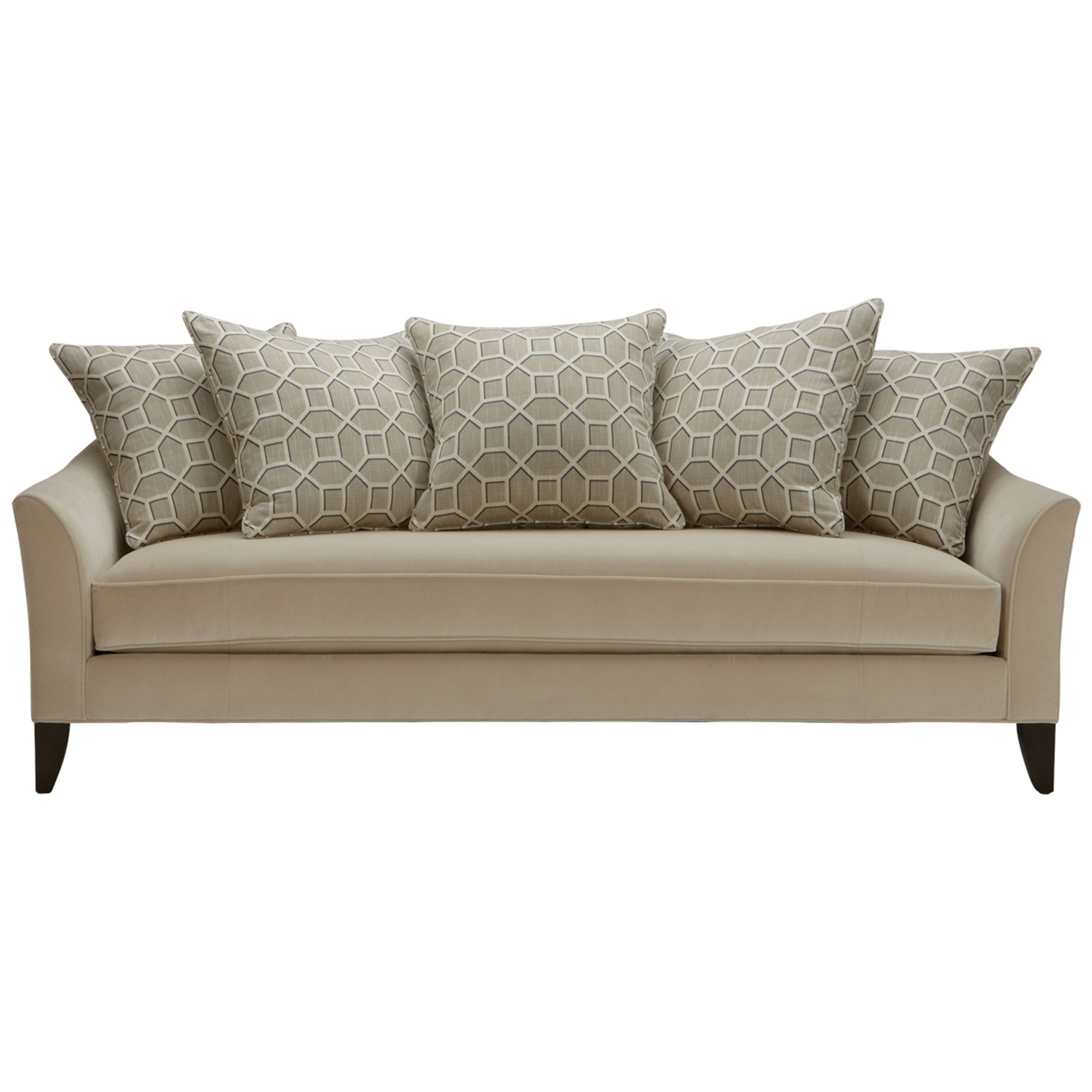 Carlotta Bench Cushion Sofa Ethan Allen Us For Window