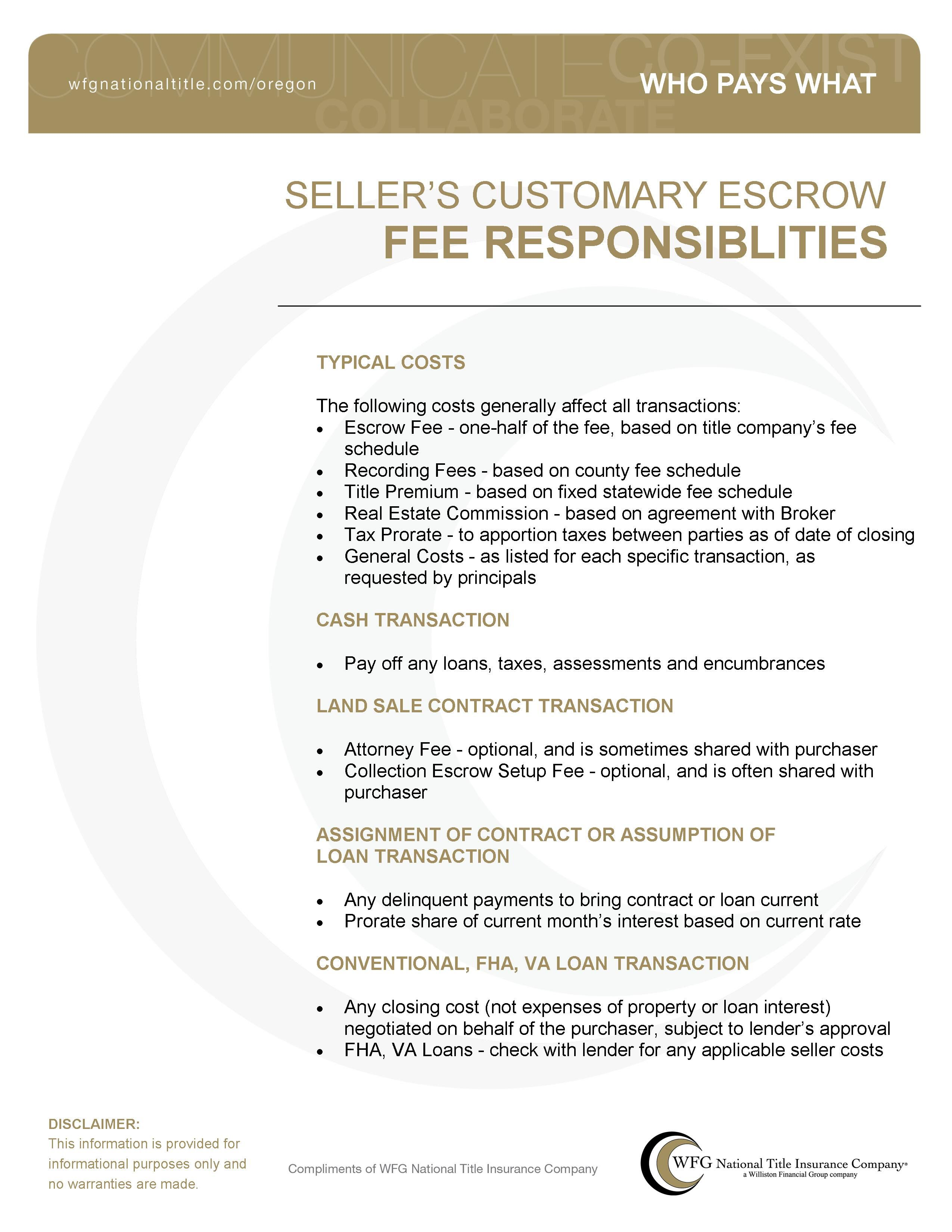 Sellers title