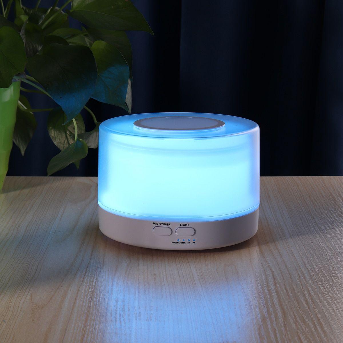 700Ml Water Tank Ultrasonic Humidifier Aroma LED Oil