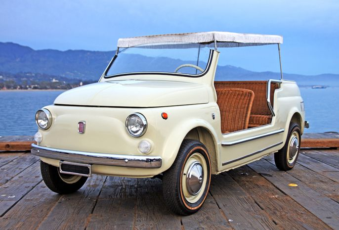 The Fiat 500 Jolly Was The Creation Of Fiat S Gianni Agnelli