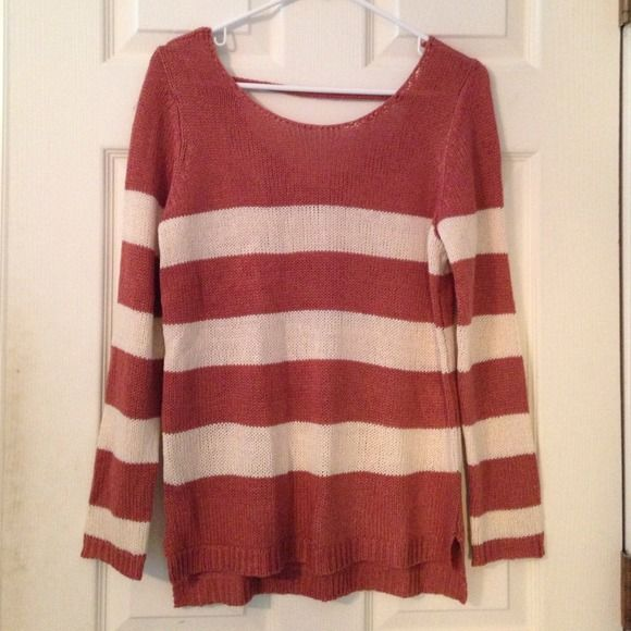 Maroon/white striped sweater | Pink roses, Conditioning and Rose