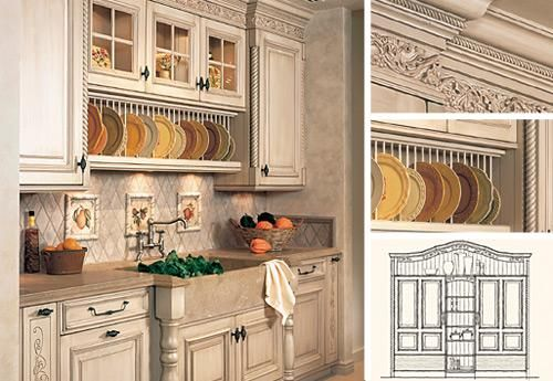 Kitchen Has A Retro Feel With White Trim Appliances Cabinetry And Sheet Vinyl Floor In Tile Pattern Walls Are Stong Colour