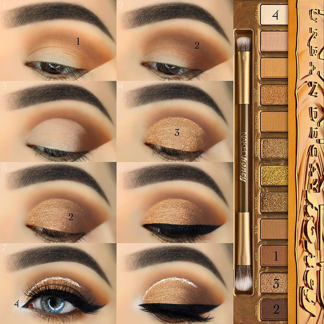 """Photo of R U B I N A 🇦🇫 on Instagram: """"🍯💫 Steps pictorial FINALLY! What do you guys this look? 💥 USED: BROWS @benefitcosmetics Goof Proof Brow Pencil in shade 6 & Brow Setter…"""""""