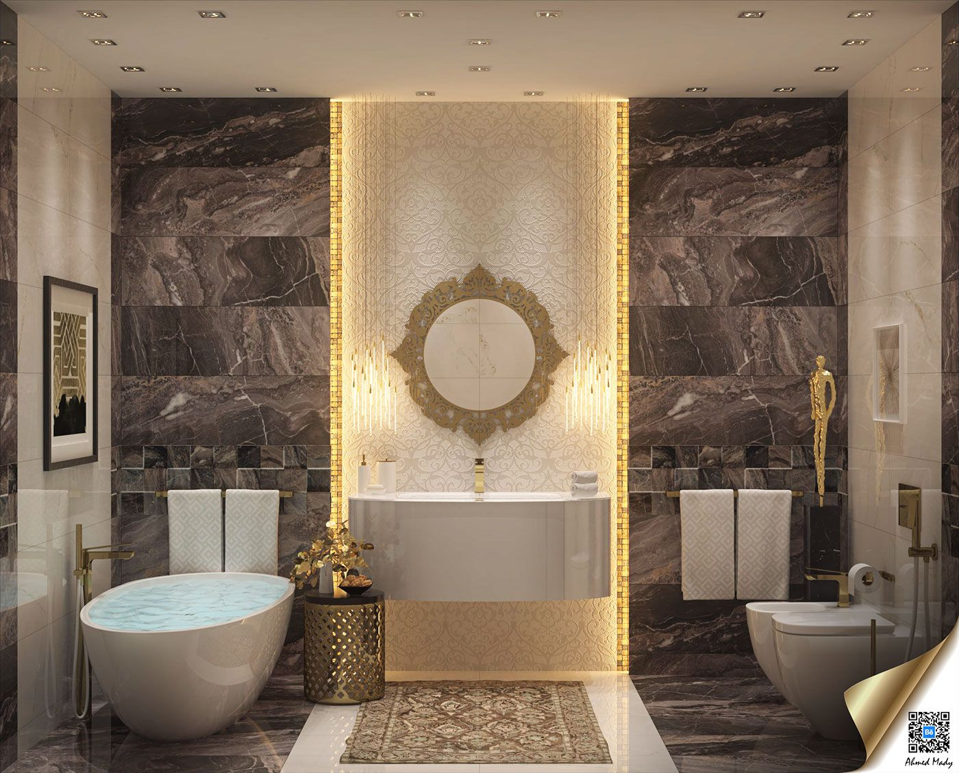 Elegant Bathrooms Designs Brilliant Tips How To Arrange Bathroom Design Ideas With Luxury