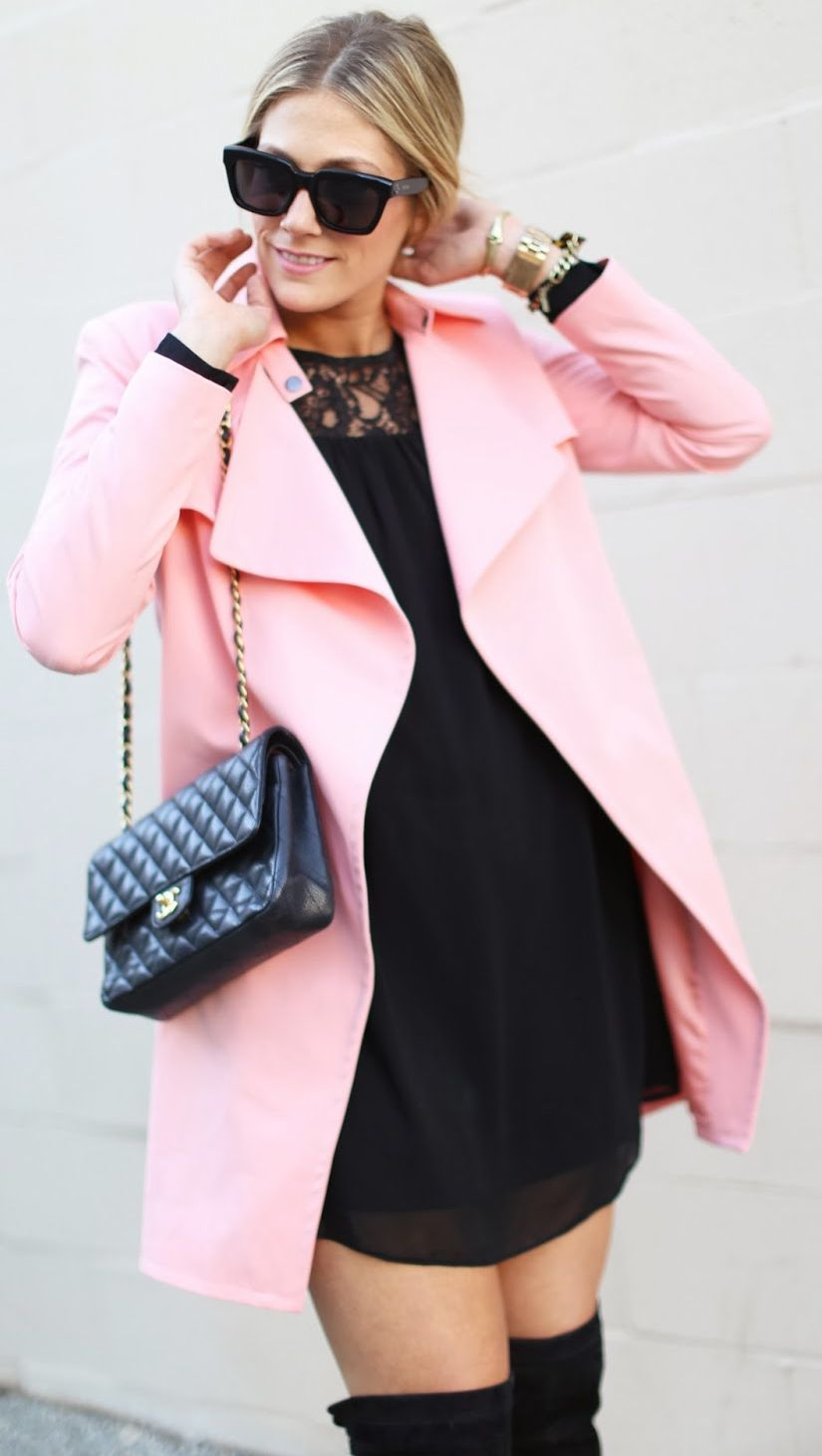 The Pink Coat by Devon Rachel