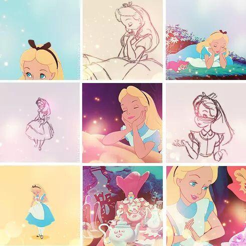 Desenho De Alice No Pais Das Maravilhas Tumblr Pesquisa Google