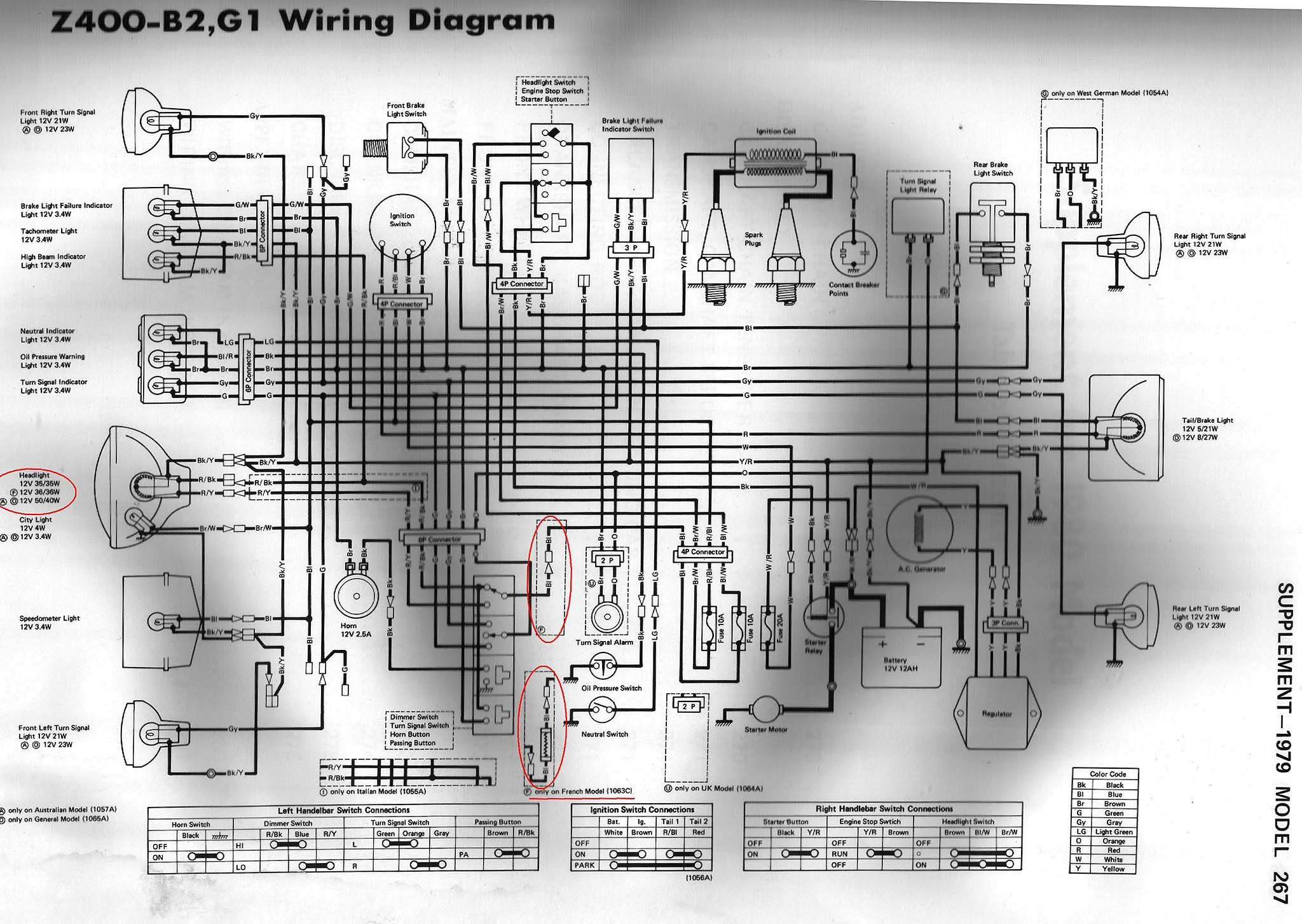 1979 400,B2, G1.jpg (2048×1453) | Diagram, Wire, Model